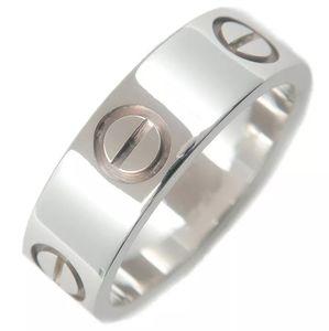 Cartier Love Ring 5.5mm White Gold EU 49